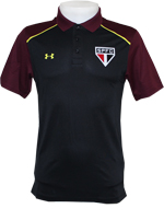 Polo Core Under Armour SPFC 2016 Preta